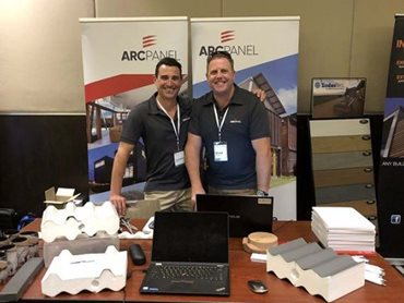 ARCPANEL stand at Regional Architecture Conference & Awards