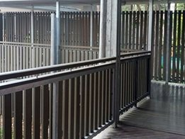 InnoRail Composite Timber Railing System from Innowood Australia