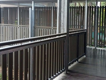 InnoRail Composite Timber Railing System from Innowood Australia l