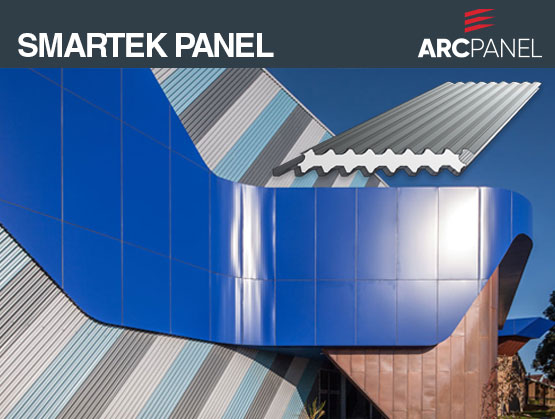 ARCPANEL Smartek Panel: Combines contemporary design, high strength & durability