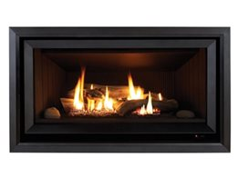 Replace Older Space Heaters with Decorative Gas Log Flame Fires from Rinnai Australia
