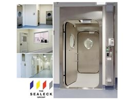 Bio Containment Doors and Window Systems for bacteria control from The Sealeck Group