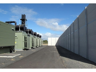 Dunewall™ Extra High Commercial and Industrial Sound Barriers from Wallmark