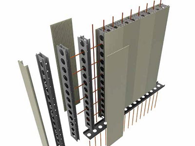 Big River Group Permaform PVC permanent wall framework