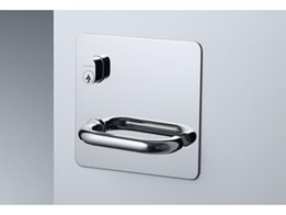 Plate Door Hardware with a Concealed Fixed Plate by Lockwood Australia