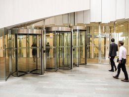 Tourlock high security revolving door
