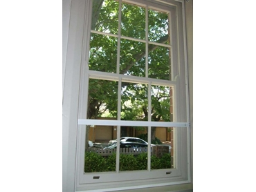 Soundblock retrofit Acrylic Magnetic Windows white PVC frame
