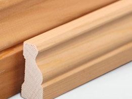 Cedar Sales stunning for a natural designer finish for architraves, skirtings and mouldings