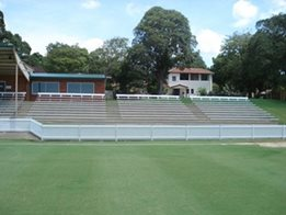 BAB aluminium grandstand seating solutions