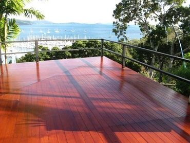 UBIQ INEX DECKING boards are BAL FZ Fire rated for fire safe usage l