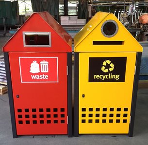 BinSafe DUO_Recycling_Waste