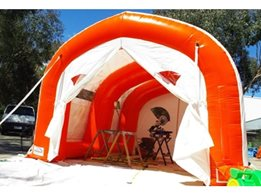 Temporary Inflatable Buildings and Inflatable Workshops from 1300 Inflate
