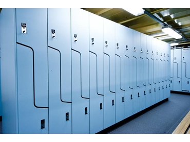 Lockers and Bench Seating from Interloc Lockers