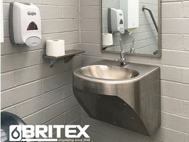 Britex sanitary fixtures at Hanging Rock Toilet Block
