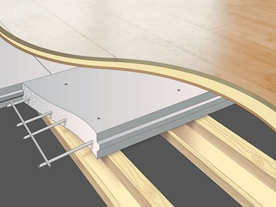 Detailed Cross Section of Hebel PowerFloor Flooring System
