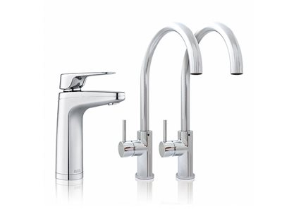 Billi XL Levered Dispenser Gooseneck Chrome finish filtered water tap