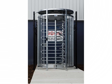 Fully Risk Assessed Turnstile