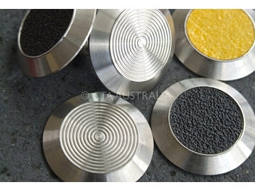 UV Stable Polymer and Stainless Steel Tactile Ground Surface Indicators from CTA Australia l jpg