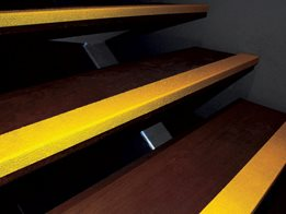 Carborundum Modified Stair Nosings and Plates - BCA, NCC, Australian Standards Compliant