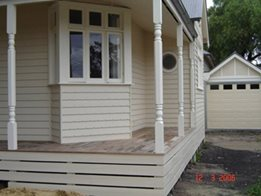 ​Custom V Notch Weatherboard from Healy's Building Services