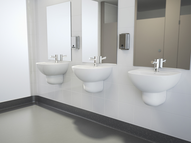 The Caroma Care 500 Wall Basin Offers Premium Healthcare Solutions