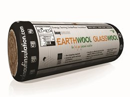 Earthwool Underfloor roll with a wind wash barrier