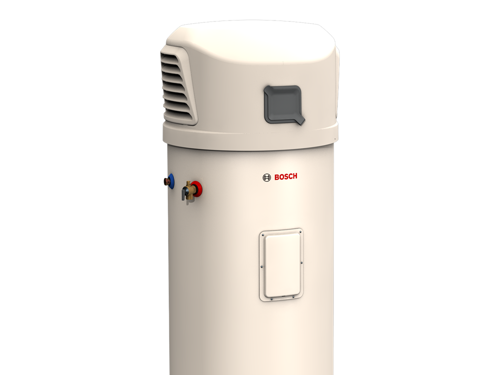 The Bosch Compress 3000 air-to-water heat pump represents the very pinnacle of energy efficient water heating innovation