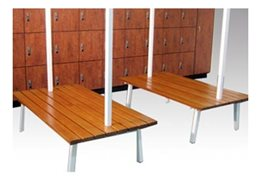 Bench Seating for Locker-Rooms from Excel Lockers