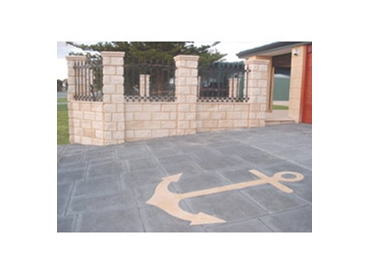 Create attractive patterns with Decorative Limestone Paving