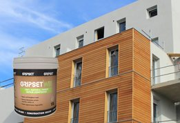 Gripset WB1: 100% effective and natural protection, preservation and strengthening of timber