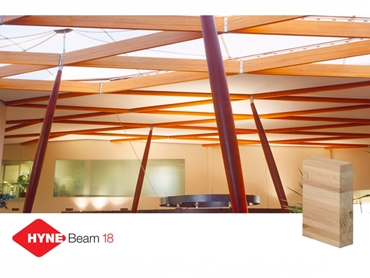 Light coloured timber beams for internal exposed situations