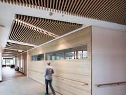 Au.diSlat: Linear timber slat modules