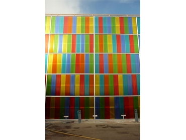 Customised colourful Rodeca Facades to suit a diverse range of applications