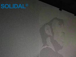 SOLIDAL® Perforated® Artwork Solid Aluminium (Non-combustible)