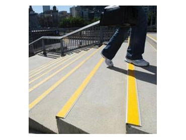 Tactile Ground Surface Indicators Stair Safety Nosings Entrance Mats and Braille Signage from CTA Australia l jpg