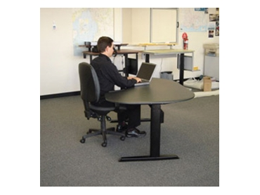 Electric Height Adjustable Desks from Ergomotion l jpg