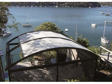 FTS retractable awnings for effective shading of skylights