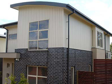 Vertical Vinyl Cladding in Standard or Board & Batten Profile