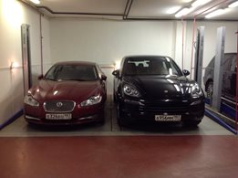 Double Spacer: Car parking stacker