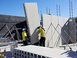 AFS Logicwall® fibre cement permanent formwork walling system