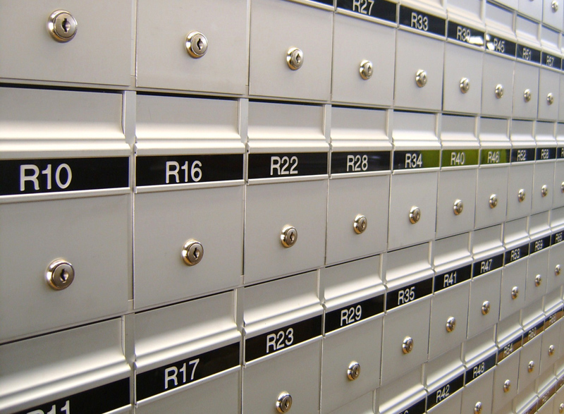 Mailsafe compact series mailboxes