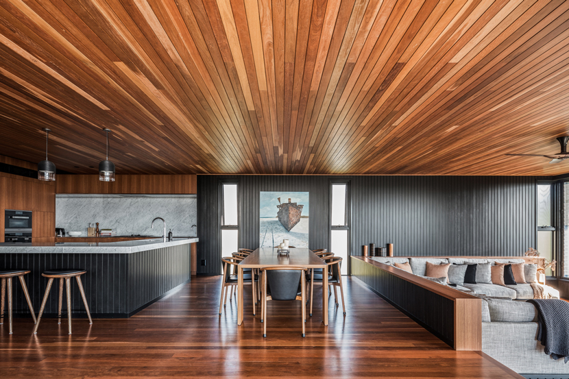 Byron House timber interior