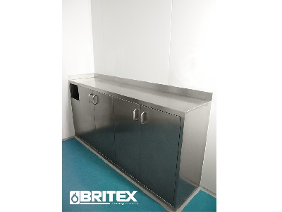 Britex stainless steel standalone cabinet