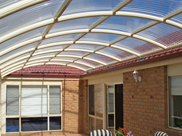 SunSky profiled polycarbonate sheeting