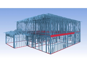 Building Design Software for Steel and Timber Framed Houses from Vertex CAD PDM Systems l jpg