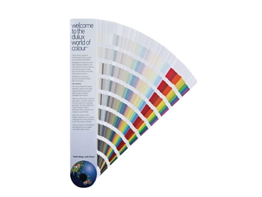 Dulux World of Colour™ Fandeck allows you to compare and contrast a rainbow of paint options with ease