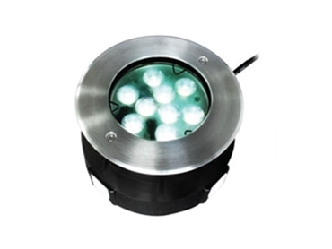 Long lasting Circular Recessed In Ground Outdoor LED Lights