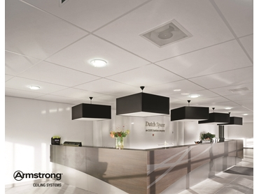 Armstrong Acoustical Mineral Ceilings Combine Sustainability with Contemporary Design l jpg