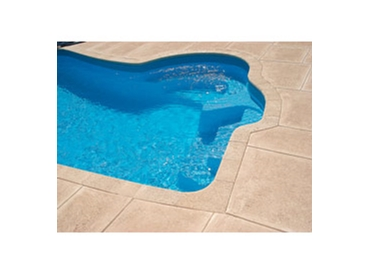 Limestone paving is an attractive and durable solution for pool areas