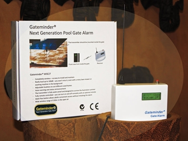 Gateminder Next Generation Pool Gate Alarm from Dimension One Glass Fencing l jpg